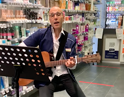 pharmacien chanteur